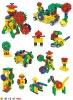 Plastic kids assembling toys (KT-PT1029)