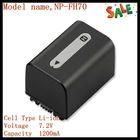 lead acid battery NP-FH70 for Sony camera DCRHC48E/ 38E/ 28E