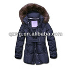 Top selling fur hoodies women jacket,high quality genuine down feather jacket,popular 2012 competitive price