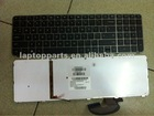 Original Brand New Laptop Keyboard for HP ENVY 17 Backlit With Frame US Black P/N 610914-001