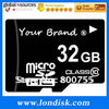 High speed memory card made in korea 32gb c10