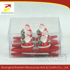 Poly Christmas Santa Clip Set
