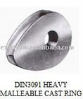 :DIN 3091 heavy wire rope thimbles