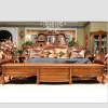 Luxury french furniture antique wooden floor cabinet GS-F-01