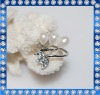 6mm fashion designed freshwater ring pearl