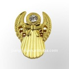 3D relief lapel Pin with Rhinestone from JIAN
