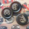 Men's suit button fastener