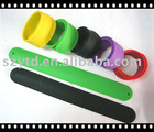 new style silicone slap bracelet wristbands
