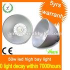 50W High Brightness LED Mining Light AC 170V-265V
