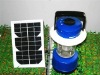 Solar LED camping lantern(Blue)