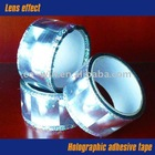 Lens holographic adhesive tape