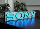 Bright LED light signs letters