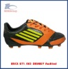 football soccer shoe for men lace up with bright color