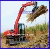 4.5m loading hight sugar cane loader/grasper