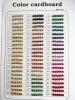 Plating Color Bead Cardboard
