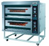 2 deck 4 trays luxury type gas oven NFR-40H