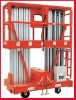 Reliable mobile aluminium work platform (dual mast) baolift machinery high platform