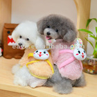 Smile Rabbit Dog sweater Winter Clothes with 4 Foots