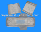 sanitary blue incored pads with ultra thin style