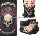 Seamless skull printed tube bandana HK-2022
