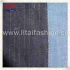 Indigo cotton denim fabric