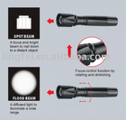 Focus Control Cree LED Flashlight