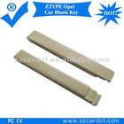 ZTYPE Opel flip blank key,classical and popular model,international standard dimention,brass material