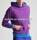 mens polar fleece pullover hoodie sweatshirt