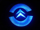 2012 New Model Cool Hot Sale led door courtesy light with Citroen car logo