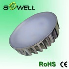 7W Aluminum Alloy heat sink gx53 led