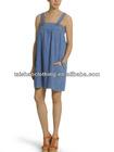 Ladies wholesale casual denim dresses