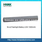 China battery Ni-cd Flashlight Battery Pack 4.8V 1500mAh