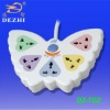 DZ-702 5 way butterfly shaped European extension socket
