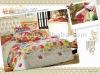 Good quality 100% Cotton 4pcs/set colorful bedding sets