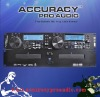 Rack-mount dual mp3/cd/ player