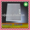cooker hood filter plastic lock button and aluminum material