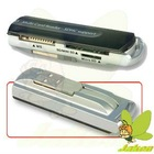 Small spacecraft All in 1 Multi Card Reader by SD/MS/TF,43 in 1 high speed card reader