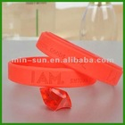 Silicone 2012 new fashion bracelet made in China