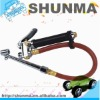 """Inflator gauge, tire inflator, with 12"""" rubber hose, inflate and deflate, SMT5216"""
