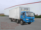 FAW 6x2 Refrigerator truck
