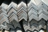 Slotted galvanized steel angle bar