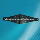 black coated hinge door heavy duty steel hinge