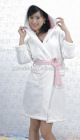 spa collection plush robe with weak Shrinkage