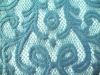 polyester cotton blend lace used for upholstery fabric