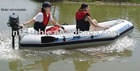 fashion advertising hot sale Inflatable floating boat