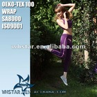 Women hot yoga wear with drawstring