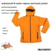 OUTDOOR FASHIONABLE FLEECE BONDED YELLOW JACKETS FOR MENS AND WOMEN
