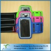 Neoprene mobile phone arm bag for Iphone 5