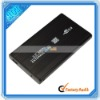 Black USB 2.0 Hard Drive Case 2.5'' SATA HDD Enclosure