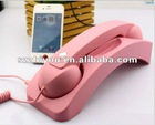 Retro radiation protection mobile phone handset for blackberry with rubber coat